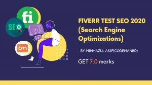 fiverr social media marketing test