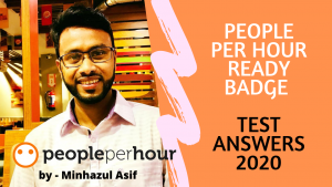 People Per Hour READY BADGE - TEST ANSWERS
