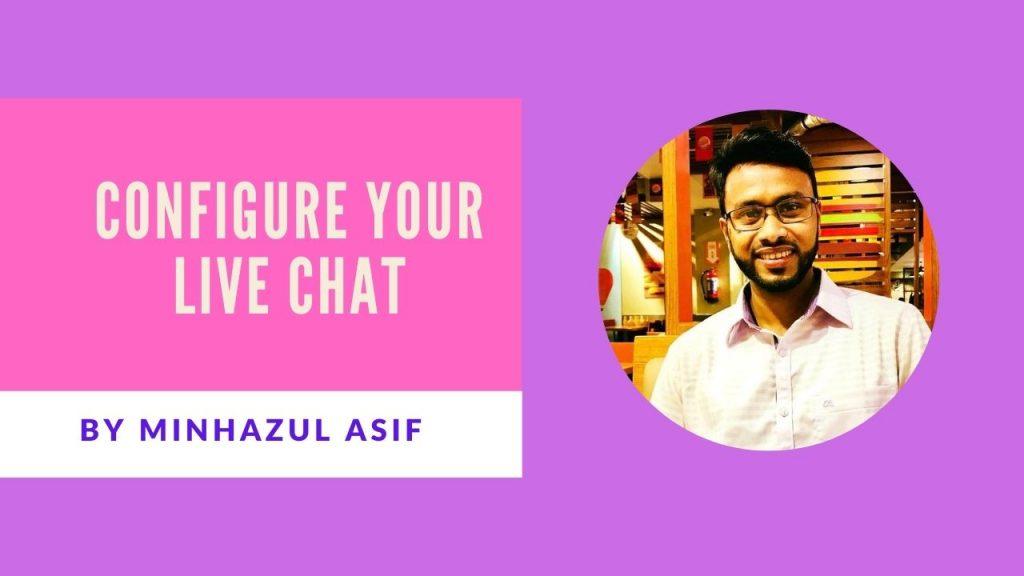 Configure your live chat