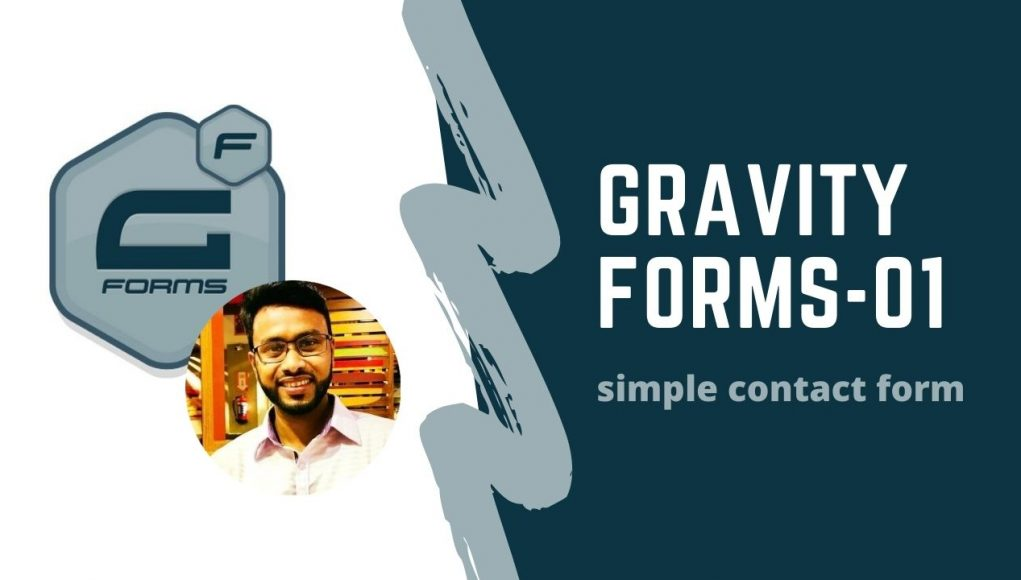 gravity form simple contact form