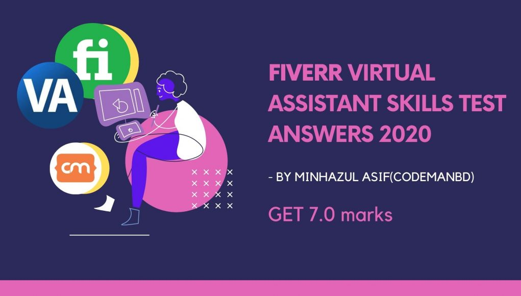 FIVERR Virtual Assistant SKILLS TEST ANSWERS 2020