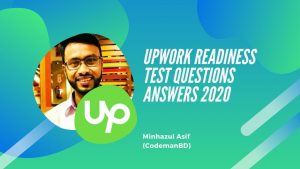 Upwork readiness test questions answers 2020