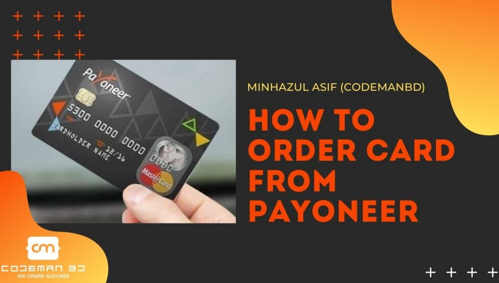 how to order card from payoneer