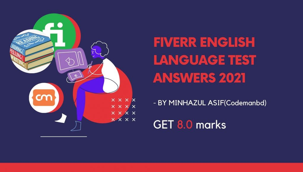 Fiverr english language test answers2021