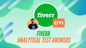 fiverr Analytical Test Answers